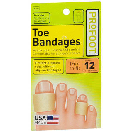 Profoot Toes Bandages, MED, 1 bandages