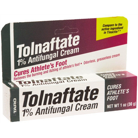 Tolnaftate Antifungal Athletes Foot Cream 1%, 1 oz