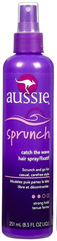 Aussie Sprunch Catch the Wave Hair Spray, Strong Hold, 8.5 oz