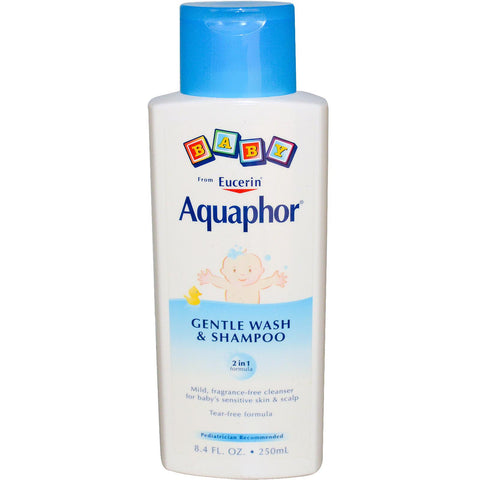 Aquaphor Baby Gentle Wash & Shampoo, 8.4 oz