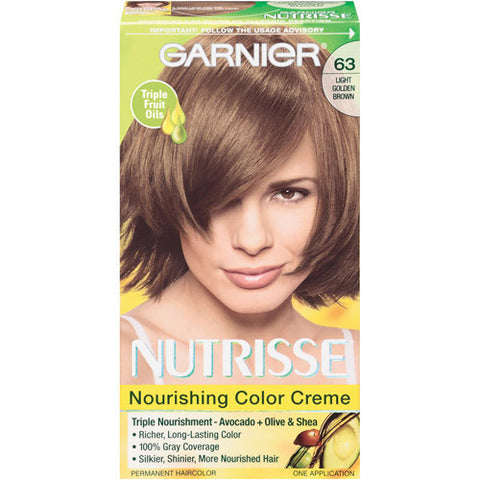 Garnier Nutrisse  Light Golden Brown No. 63