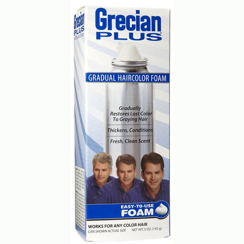 Grecian PlusGradual Haircolor Foam, 5 oz