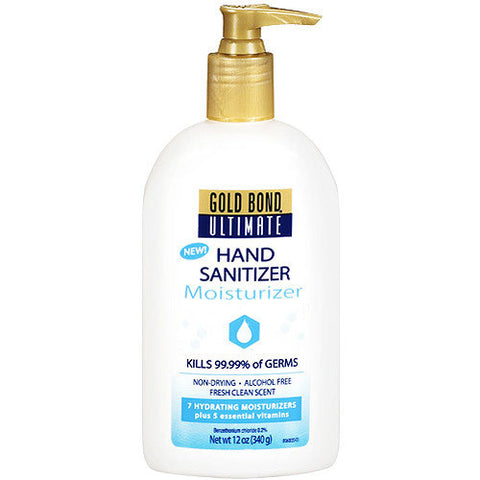 Gold Bond Ultimate Hand Sanitizer Moisturizer, 12 oz