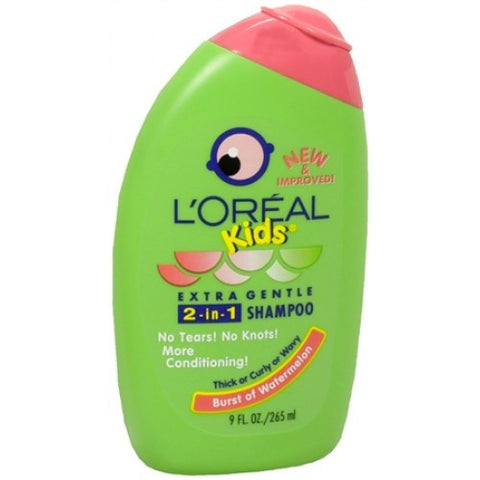 L'Oreal   Kids 2 in 1 Shampoo Burst of Watermelon   Thick and Curly  9 oz