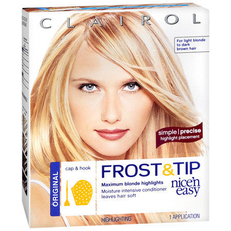 Clairol  Nice'n Easy  Frost & Tip Maximum Blonde Highlights