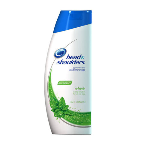 Head and Shoulders Dandruff Shampoo, Refresh, 14.2 oz
