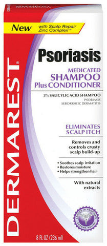 Demarest Medicated Shampoo Plus Conditioner, 8 oz