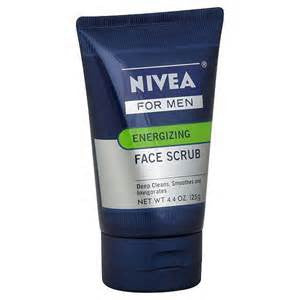 Nivea For Men Energizing Face Scrub,  Face Liq, 4.4 oz