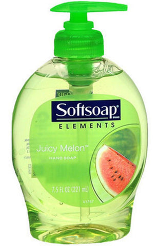 Softsoap Anti-bacterial Pump, Juicy Melon, 7.5 oz