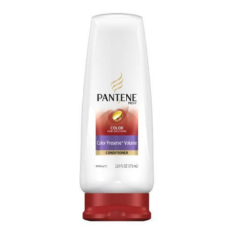 Pantene Color Preserve Hair Solutions Conditioner  Volume, 12.6 oz