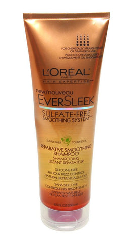 L'Oreal  Eversleek Reparative Smoothing Shampoo, 8.5 oz