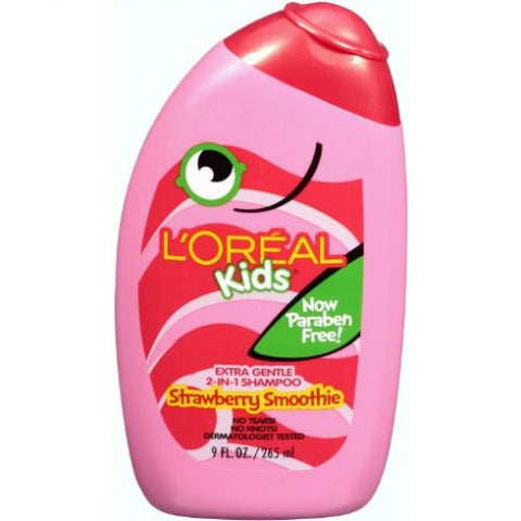 L'Oreal   Kids 2 in 1 Shampoo Burst of Strawberry Smoothie, 9 oz