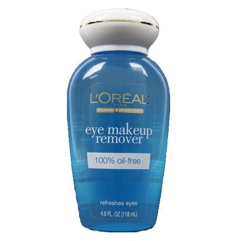 L'Oreal Dermo-Expertise   Eye Makeup Remover,  Oil-Free, 4 oz