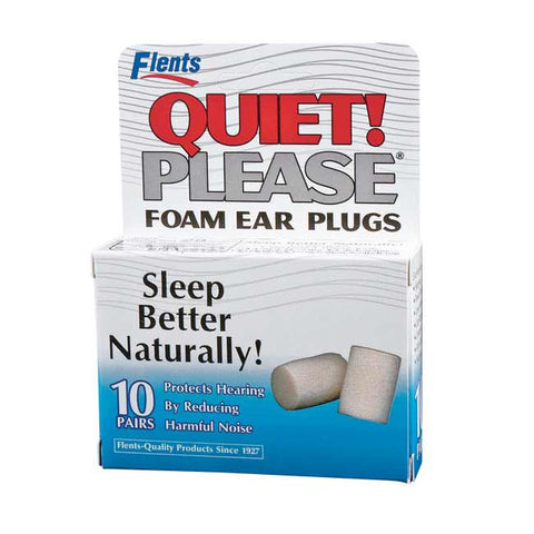 Flents Quite Please Foam Ear Plugs, 10 pair
