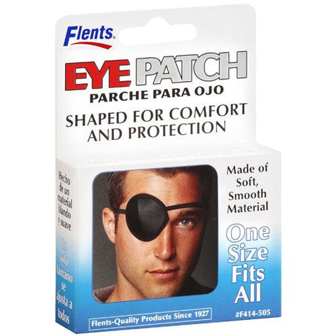 Flents Eye Patch,  Black, 1 patches