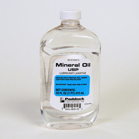 Paddock Laboratories Mineral oil, Heavy, 16 oz