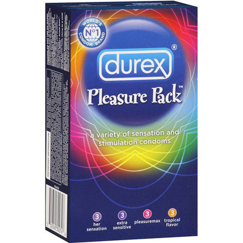 Durex Pleasure Pack, 12 pack