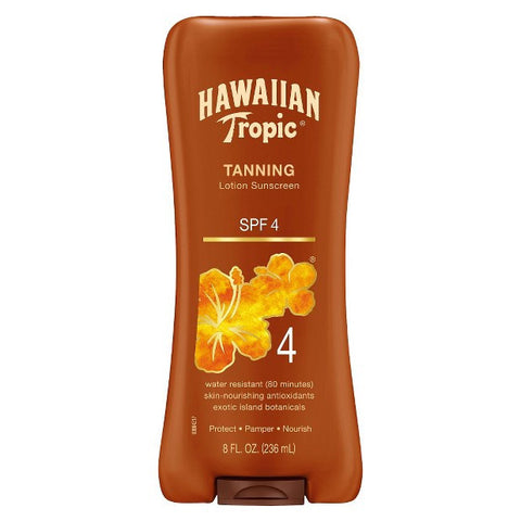 Hawaiian Tropic, Dark Tan, SPF 4, 8 oz, LIMITED QUANTITY REMAINING