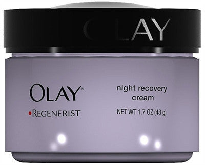 Olay Continuous Night Recovery Moisturizing Treatment, 1.7 oz