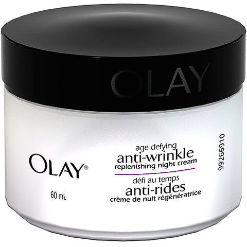 Olay Anti-Wrinkle Replenishing Night Cream, 2 oz