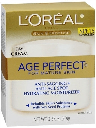 L'Oreal   Age Perfect Day Cream for Mature Skin SPF 15, 2.5 oz