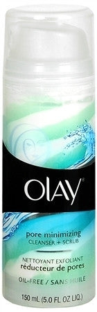 Olay Pore Minimizing Facial Cleanser  Scrub, 5 oz