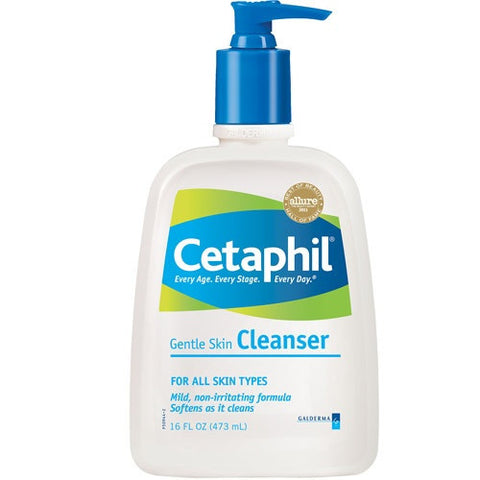 Cetaphil Gentle Skin Cleanser Lotion, 16 oz