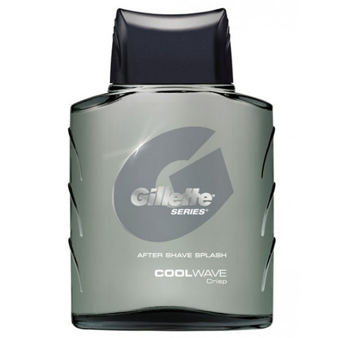 Gillette After Shave Splash, Cool Wave, 3.5 oz