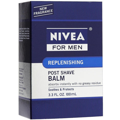 Nivea Replenishing Post Shave Balm, 3.3 oz