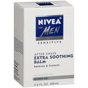 Nivea After Shave Extra Soothing Balm, Sensitive Skin, 3.3 oz