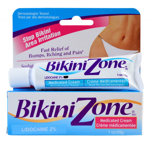 Bikini Zone Medicated Creme, 1 oz