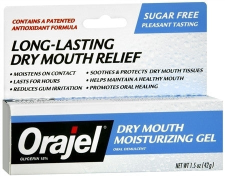 Orajel Dry Mouth  Moisturizing Gel 1.5 oz