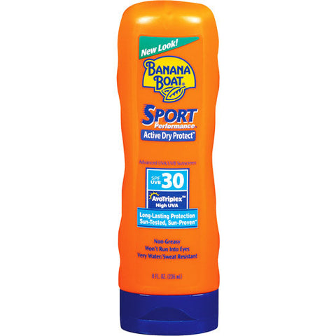 Banana Boat Sport Performance Broad Spectrum Sunscreen,  SPF 30, 8 oz