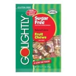 Hillside Candy Company Go Lightly Sugar Free Assorted Fruit Chew Candy, 2.75 oz