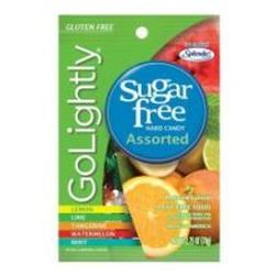 Go Lightly Sugar Free Assorted Fruit Candy, 2.75 oz