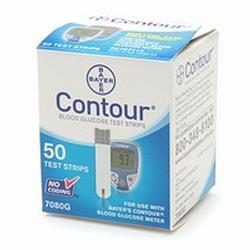 Bayer Contour Test Strips, 4 Units 100 ea
