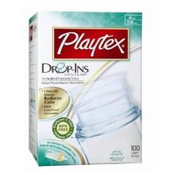 Playtex Drop-Ins Disposable BPA Free Nurser Liners, 4 oz