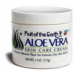 Fruit of the Earth Aloe Vera Cream, 4 oz