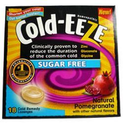 Quigley Cold-Eeze,  Pomegranate, 18 lozenges