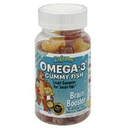 Lil Critters Omega-3 Gummy Fish, 60 chewables