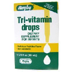 Watson Pharma Tri-Vitamin Drops, 50 ml