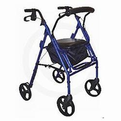 Drive Medical Design Duet Transport Chair/Rollator,  Black, 1 ea