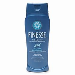 Finesse 2 in 1 Texture Enhancing Shampoo and Conditioner, 13 oz
