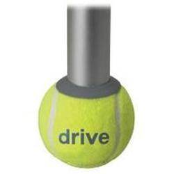 Drive Medical Design Tennis Ball Glides with Replaceable Glide Pad, 2 ea