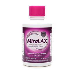 MiraLAX Laxative Powder For Solution, 17.9 oz