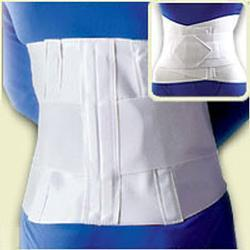 FLA Orthopedics, Inc. 10 Lumbar Sacral Back Support with Abdominal Belt, 1 ea