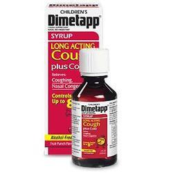 Dimetapp Childrens, Long Acting Cough Plus Cold, 4 oz
