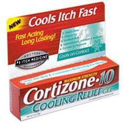 Chattem Cortizone 10 Fast Itch Relief Cooling Gel,  Maximum Strength, 1 oz