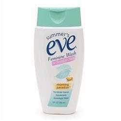 Summers Eve Feminine Wash for Sensitive Skin, Morning Paradise, 9 oz