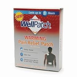 Mentholatum WellPatch Warming Pain Relief Patch, 4 patches